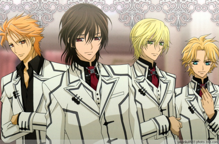 Anime Characters 175 Cm : Vampire knight anime characters cm pillow case