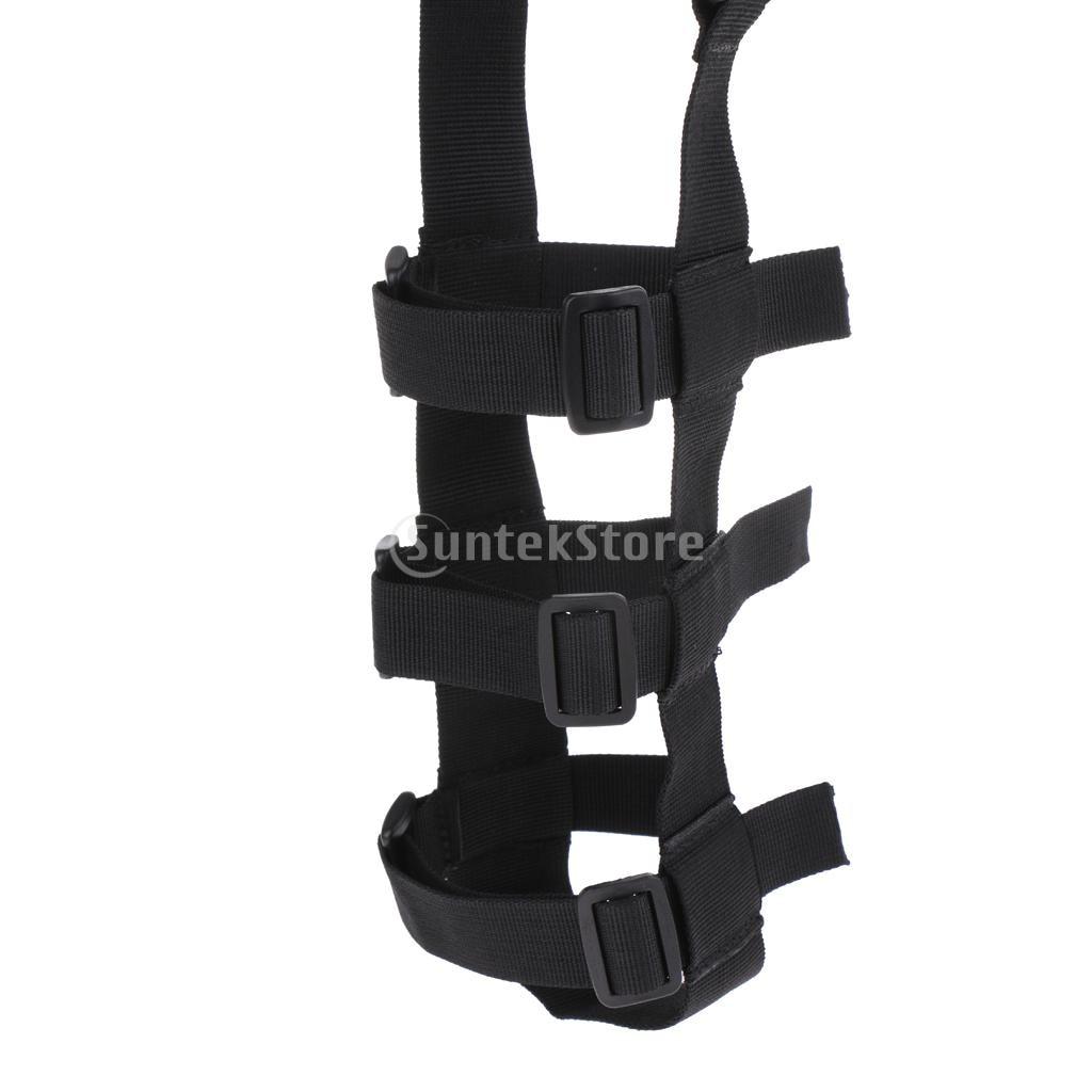 Fully Adjustable Cycling Hiking Water Bottle Carrier Holder Sling Webbing