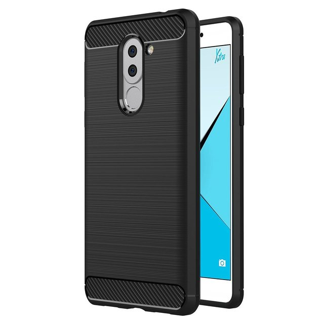Huawei Honor 6X Silicon Soft TPU Case Premium Anti Slip Scratch Resistant...