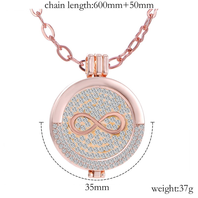 My coin pendant necklace set fashion newest infinity my coin pendant necklace set fashion newest infinity interchangeable coin disc crystals pendants my coin jewelry crystal in pendants from jewelry aloadofball Images