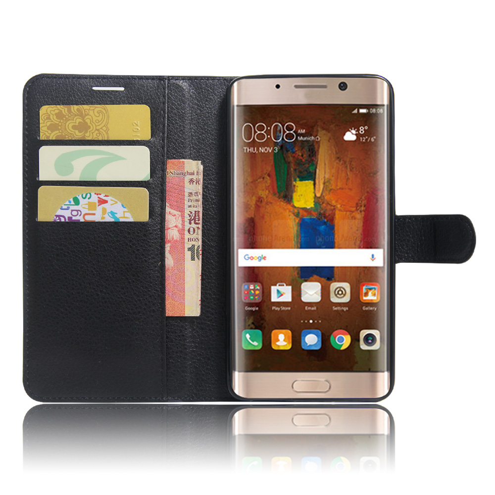 huawei mate 9 pro case litchi texture leather case for huawei mate 9 pro flip cover case wallet. Black Bedroom Furniture Sets. Home Design Ideas