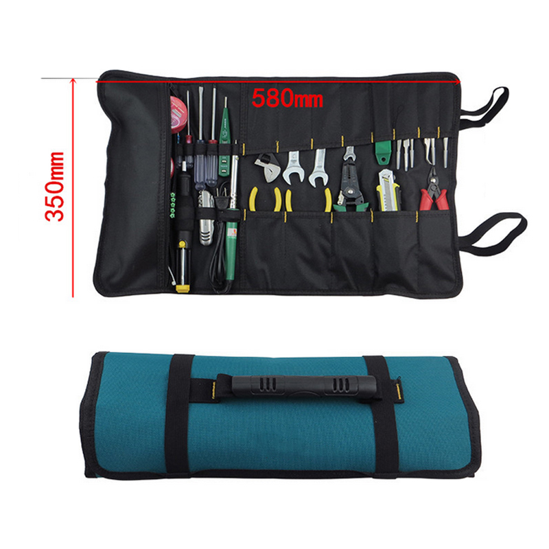 Portable Multifunction Reel Kit Portable Durable Wear Waterproof Oxford Cloth Including Belt G Type