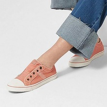 Drop Shipping OEAK 2019 Women Leisure Vulcanized Flat-soled Shoes Sports Shoes Low-Up Sports Shoes Pure Color Flat-soled Shoes