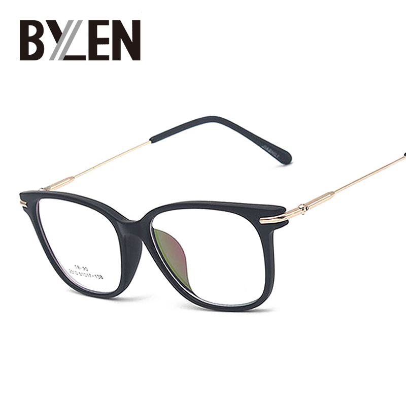 ᑐRetro ojo cuadrado Gafas marcos para las mujeres nerd Gafas metal ...