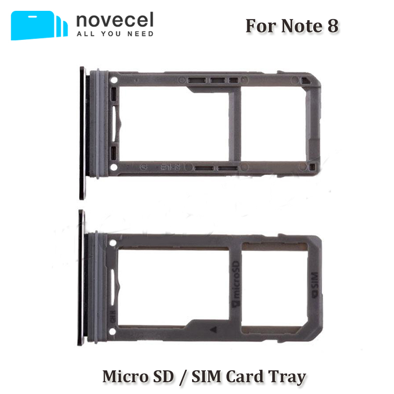 10 pcs Dual SIM Micro SD Card Tray Slot For Note 8 N950
