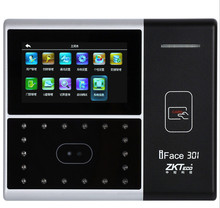 301 face recognition time recorder with proximityiFace 301 Face recognition time recorder machine/clock