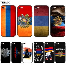 Funda suave de silicona para iPhone 11 Pro XS Max XR X 8 7 6 6S YIMAOC Armenia plus 5 5S SE(China)