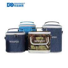 Functional Square Picnic Cooler Pack Portable Insulated Thermal Food Lunch Bags packs for Outdoor bento bag A080