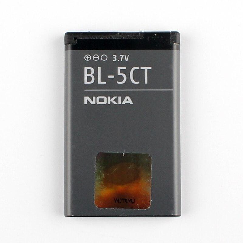 Telefono originale Per Nokia BL-5CT batteria per Nokia 5220 5220XM 6730 C5 6330 6303i C5-00 C6-01 C3-01 6303C 3720s-2