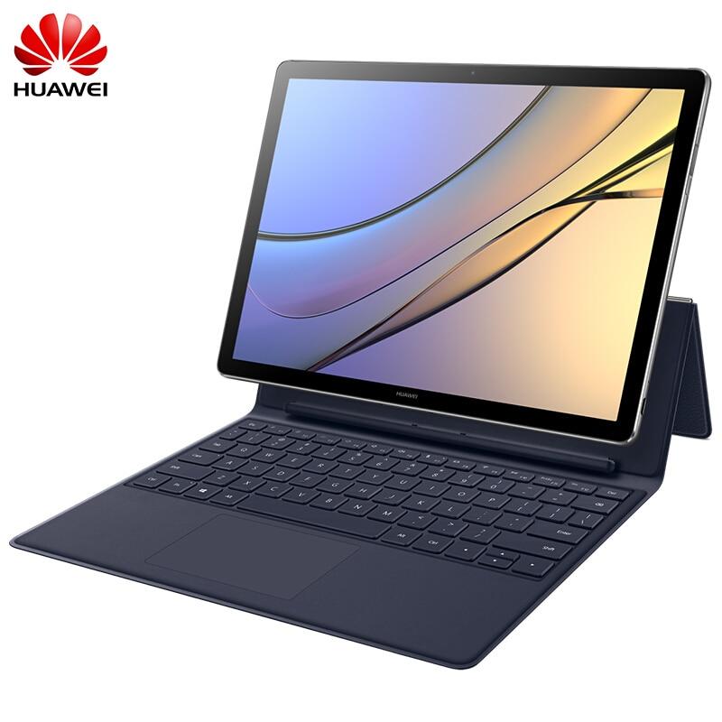 HUAWEI MateBook E 12.0 inch 4GB LPDDR3 256B SSD Windows 10 Tablet PC Intel Core i5-7Y54 Fingerprint ID 2160*1440 IPS 2 in 1