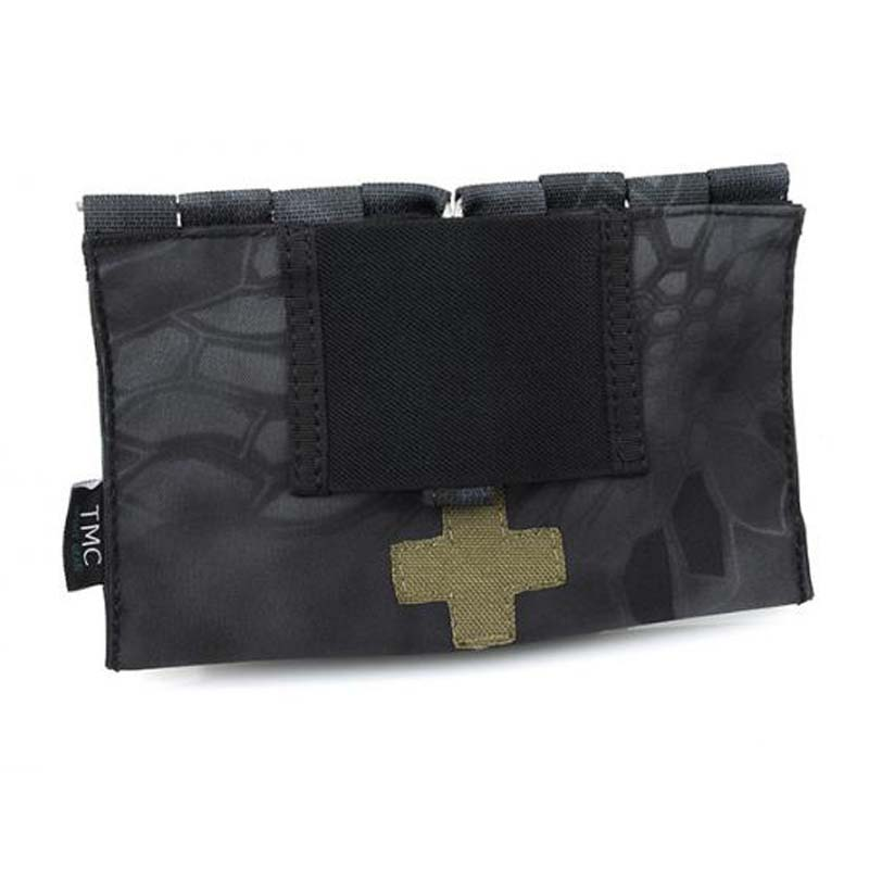 TMC2271 9022B Tactical Medical Blowout Kit Pouches for MOLLE Attachment Pack Bag Multicam OD A1 ATFG