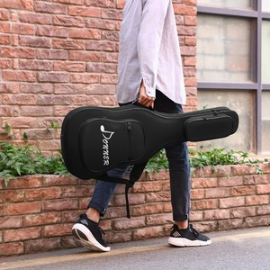 Image 5 - Donner 39 Inch Premium Electric Bass Guitar Gig Bag Backpack Case Cover Water Resistant Nonwovens Interior Thicken Sponge Pad