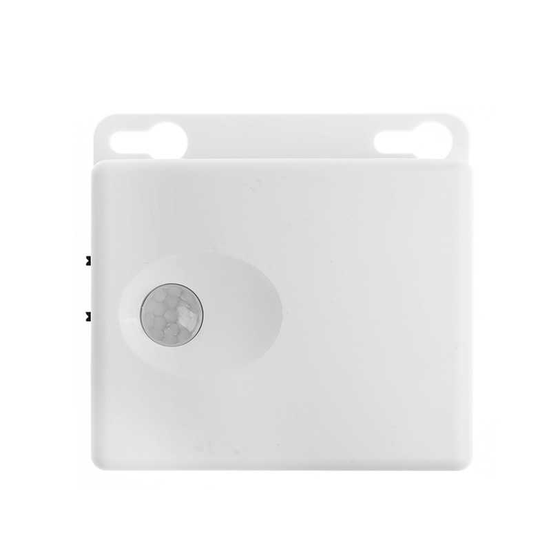 Baterai AA Power Supply Infrared PIR MOTION SENSOR Switch untuk 5V LED Strip Lampu