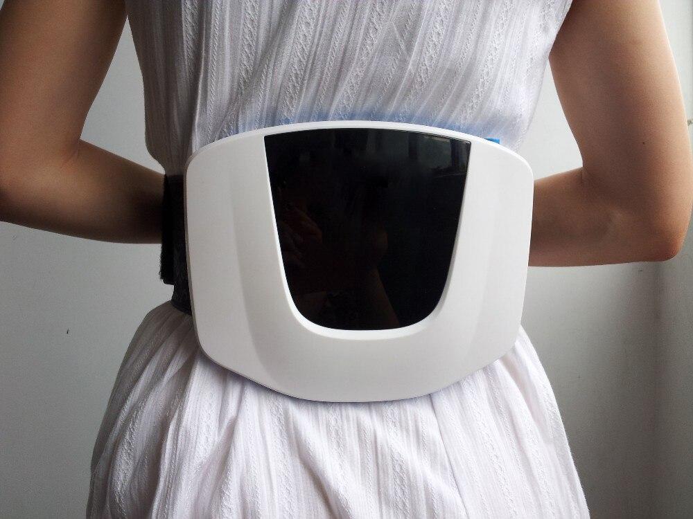 Soins de santé Doux Laser therapy LLLT 650nm Taille électrique masseur Retour taille soulagement de la douleur dispositif livraison gratuite