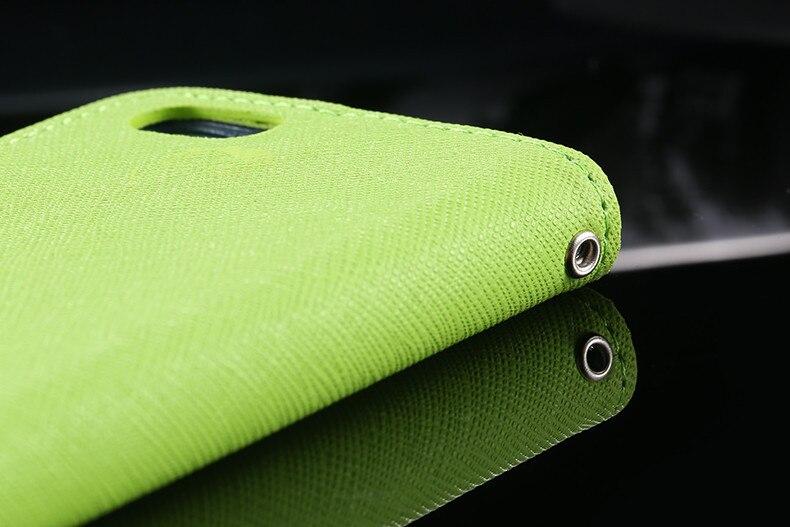 Podwójny kolor klapki skóra telefon torba case dla iphone 6 7 6 s plus 5 5S se gniazda kart + stojak kabura pokrowiec case dla iphone 7 6 6 s 16