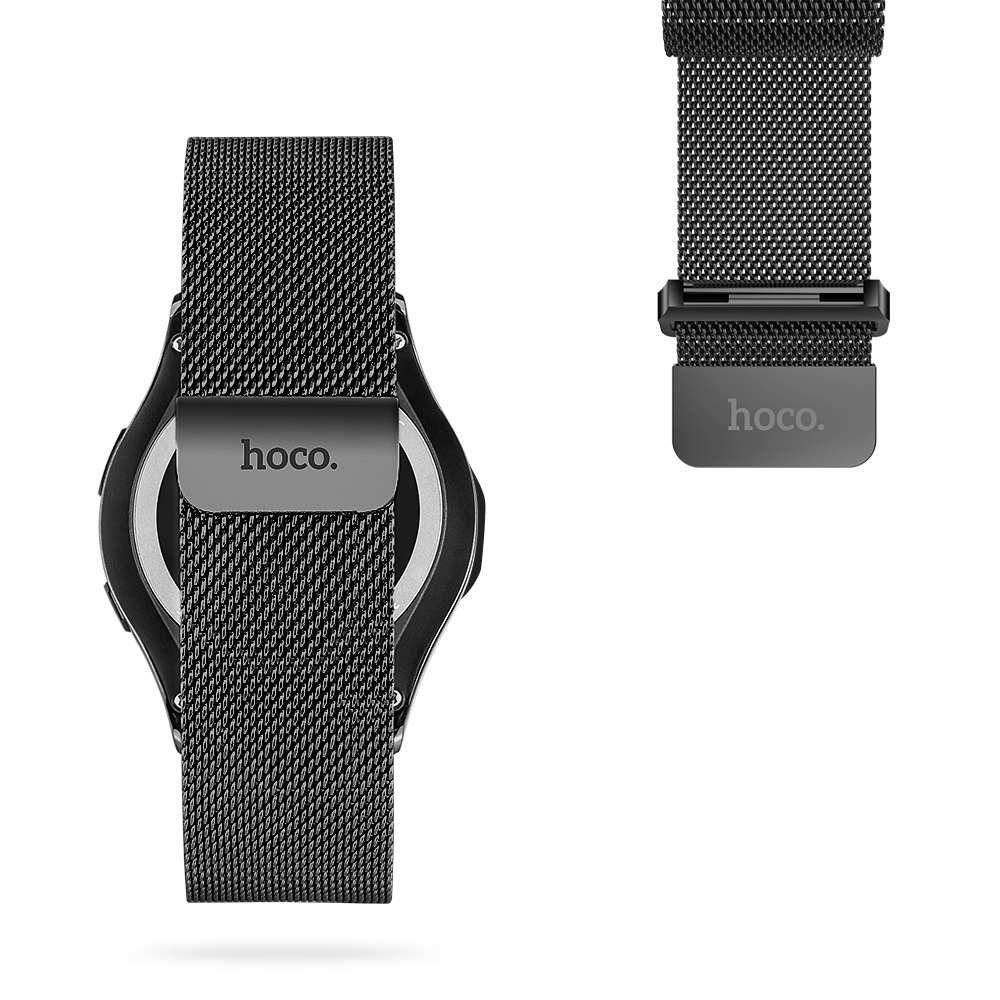 Image 5 - HOCO Magnetic Closure Milanese Loop Watch Band For Samsung Galaxy Gear S3 Classic Wrist Strap For Samsung Gear S3 Frontier Band-in Watchbands from Watches