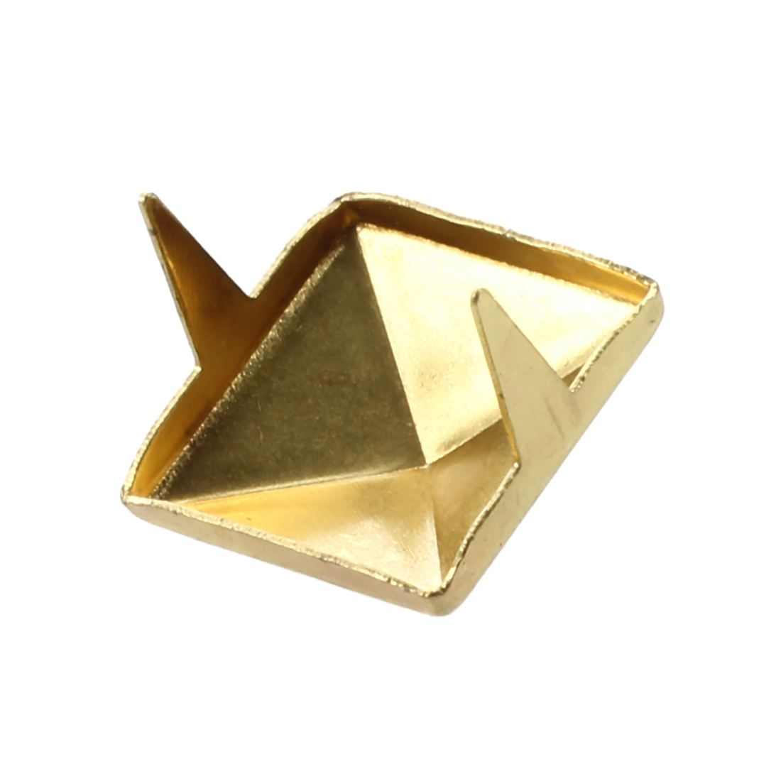 Pyramid Studs Bulk Gold Color Square 10mm-in Garment Rivets Home & Garden