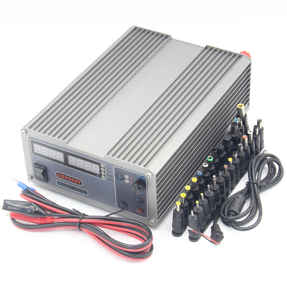 CPS-6017 Updated Version 1000W 0-60V/ 0-17A,High power Digital Adjustable DC Power Supply CPS6017 220V cps 6011 60v 11a digital adjustable dc power supply laboratory power supply cps6011