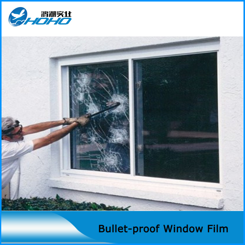 8 Mil Safety Security Filmglass Protection Filmtransparency Glass