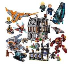 Lepin Super Heroes Ironman Hulk Buster Mech Model Building Blocks Bricks legoINGly Toys Avengers Ultron Marvel Infinity War DC