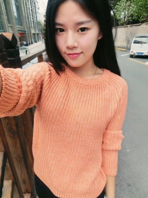 Japanese Mori Girl Kawaii Style Coarse Wool Ladies Fresh Classical ...