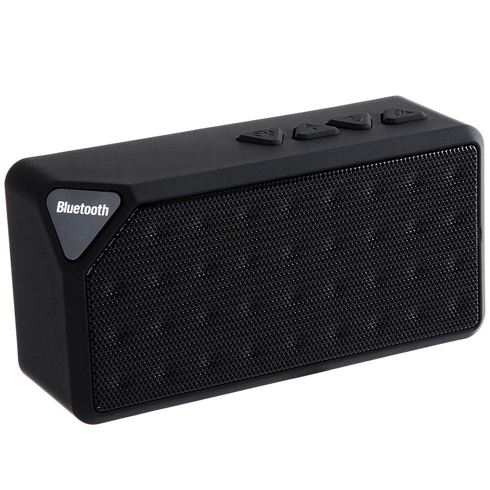X3 Mini Bluetooth Speaker TF USB FM Radio Wireless Portable Music Sound Box Subwoofer