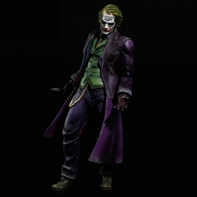Play Arts Batman The Dark Knight The Joker PVC Action Figure Model Toy 25cm-in Action & Toy Figures from Toys & Hobbies    2