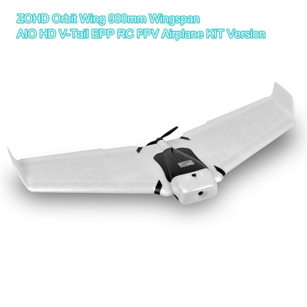 ZOHD Orbit 900mm Detachable EPP AIO HD FPV Flying Wing Airplane With Gyro with 1080p/30fps HD Camera KIT Version