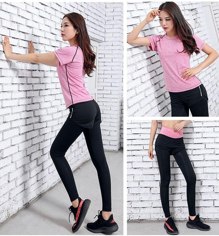 roupas de treino para as mulheres roupas
