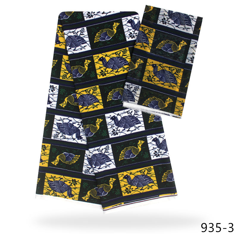 2019 african silk fabric african print fabric african fabric wholesale nigerian ankara fabrics african wax prints 935 in Fabric from Home Garden