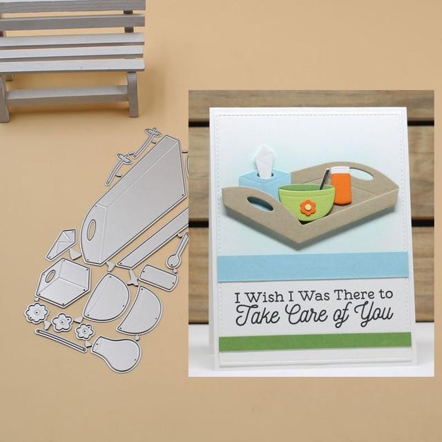 Bedside comfort Metal Cutting Dies Stencils for DIY Scrapbook Photo Album PaperCard Decorative Craft Embossing Die 2018