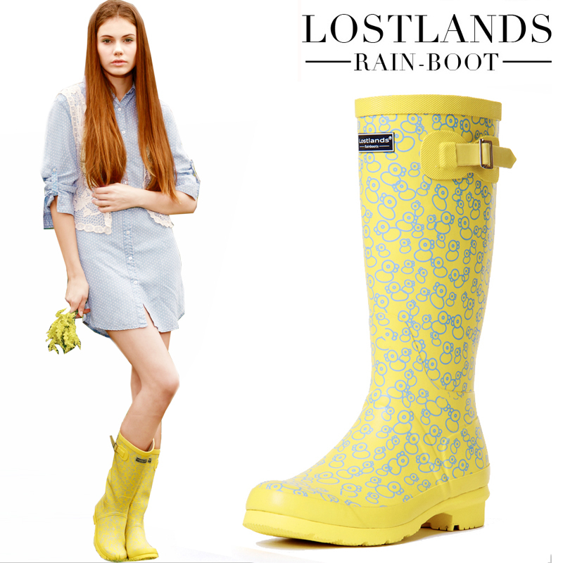 Popular Yellow Rain Boots-Buy Cheap Yellow Rain Boots lots from ...