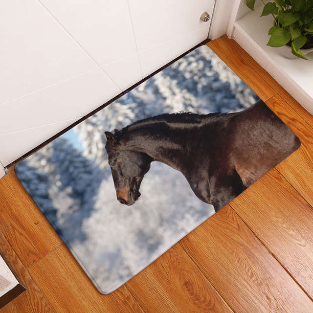 Decoruhome Anti Slip Welcome Floor Mat