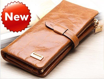 Aliexpress.com : Buy JCCS Genuine Leather Wallet Women's & Men's ...