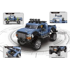Image 5 - Super Car Pickup SUV Adult Mini Building Blocks Puzzle Assembly Model Toy Difficult Boys