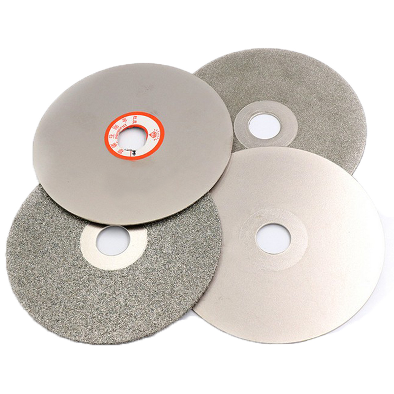 """4"""" inch Grit 36- 3000 Diamond Grinding Disc Wheel Coated Flat Lap Disk Lapidary Tools for Sharpening Diamond Blades Gemstone"""