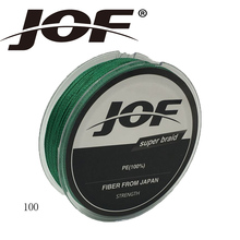 Great Discount JOF 100m 4LB 150LB Braided Fishing Line PE Strong Multifilament Fishing Line font b