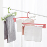 Plastic Folding Racks Bath Towel Racks Household Rotating Bed Sheets Pants Drying Racks