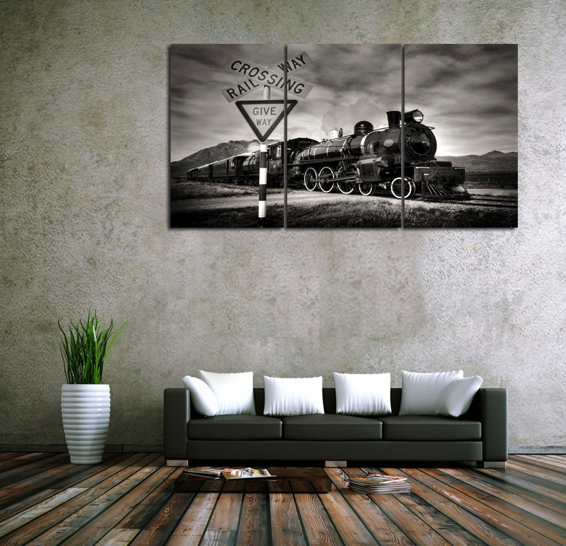 Train Wall Decor popular train wall art-buy cheap train wall art lots from china