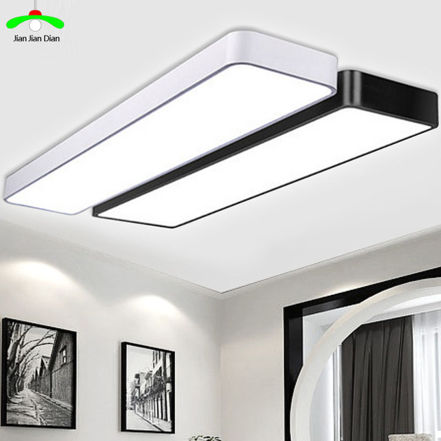 LED Ceiling Light Modern Lamp Panel Living Room Round Lighting - Surface mounted kitchen light fixtures