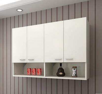Contracted kitchen cabinet top cabinet condole bathroom receives ark to hang 120*60*30