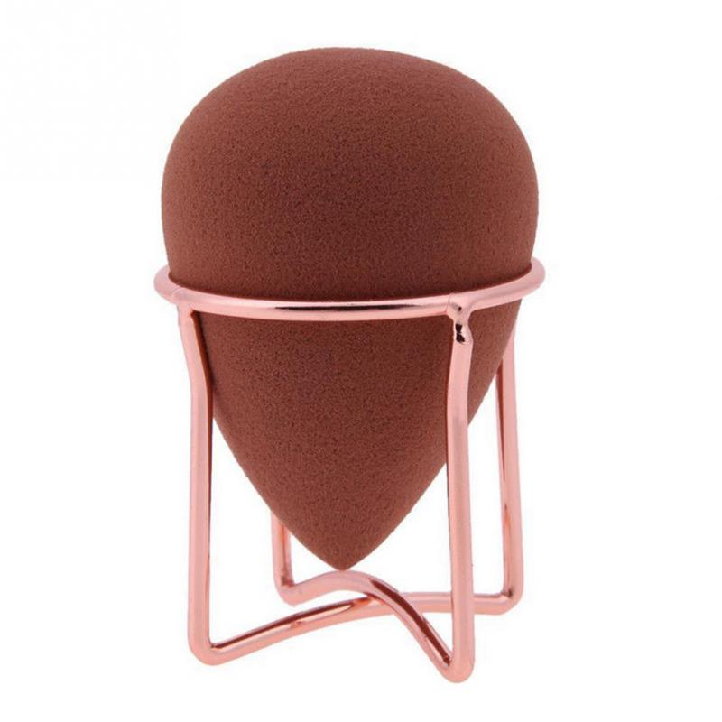 2019  1Pc  New  Makeup Sponge Gourd Powder Puff Rack Egg Powder Puff Bracket Box Dryer Organizer Beauty Shelf Holder Tool(China)