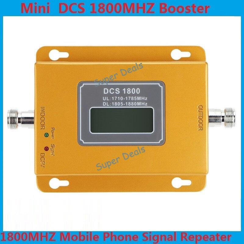 Мини 70dB ЖК-дисплей 2 г 4 г LTE <font><b>GSM</b></font> DCS 1800 мГц сотовый телефон мобильный телефон ретранслятор усилитель сигнала/ ретранслятор/Усилители домашние + М&#8230;