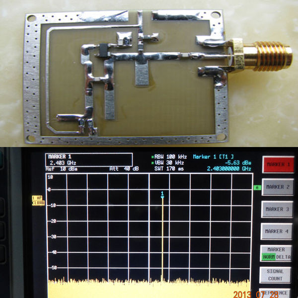 Frequency Source With Digital Control