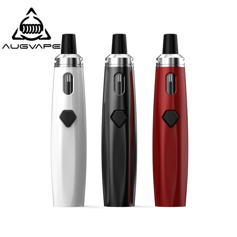 Augvape AIO Kit EGO Vape Penna 0.6ohm Single Coil 2 ml Built-In 1500 mAh Batteria 30 W LED Indicatore di Tutti I in Una Sigaretta Elettronica