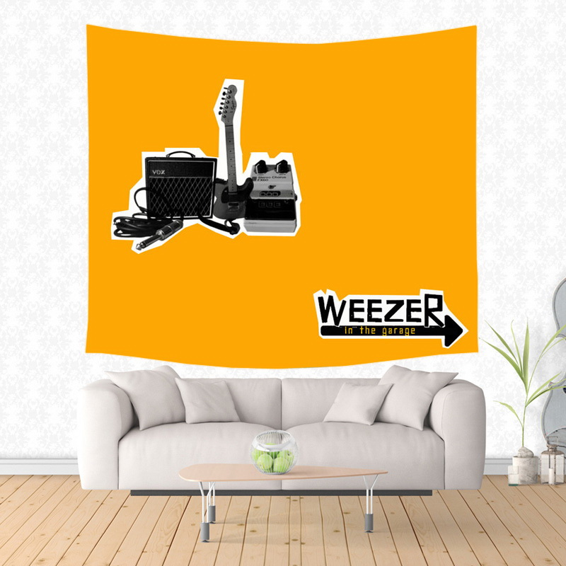 2017 New weezer Design Wall Hanging Tapestry Fashion Wall Art Decor ...