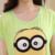 Amarelo Minions Pijama Coton Femme 2017 Verão Mulheres Pajama Define Meninas Conjuntos Pijamas Homewear Pijamas Mujer Leite Macaco