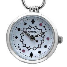 Женские стильные Серебристые часы браслет с кристаллами и белым