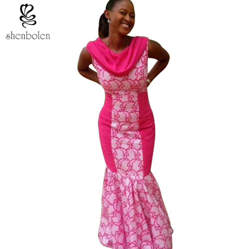 Lujo Vestidos De Dama De Impresión Africano Ideas - Ideas de Vestido ...