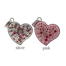 Heart USB Flash Drive Pen Drive Disk Gift Diamond Crystal Heart Necklace Pen Drive 4GB 8GB